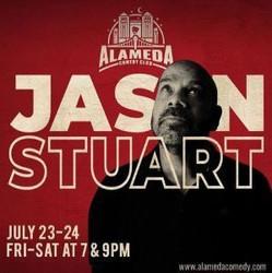 Jason Stuart at the Alameda Comedy Club