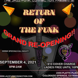 Jazz-funk Connection's Grand Re-opening!