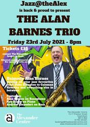 Jazz@thealex - The Alan Barnes Trio