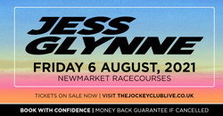 Jess Glynne live at Newmarket Racecourses!