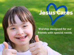Jesus Cares event for people with special needs