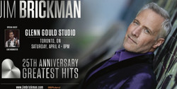 Jim Brickman 25th Anniversary Greatest Hits Tour