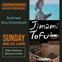 Jimami Tofu Movie Premier w/ Live Eisa Performance