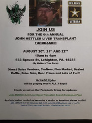 John Hettler's 6th Annual Live Liver Donor Search and Fundraiser