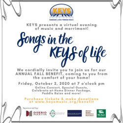 Join Keys on Oct. 2nd to Help Keep the Music Playing