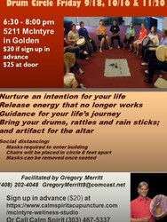 Join Sacred Drum Circle and Receive Divine Guidance