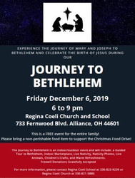 Journey to Bethlehem with Live Nativity and Animals, Dec 6 at Regina Coeli
