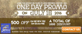 Jrooz Ielts One Day Promo - July 16, 2016