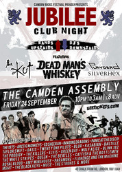 Jubilee Club with DJs, Dead Man's Whiskey, The Kut and more at Camden Assembly