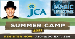 Julius Magic Camp - Magic Lessons at Jca Summer Day Camp - One Week Session - June 28 - July 2