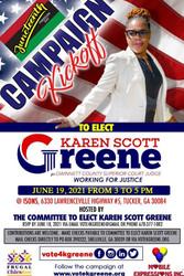 Juneteenth Campaign Kickoff To Elect Karen Scott Greene Superior Court Judge