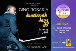 Juneteenth Jazz with Gino Rosaira