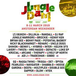 Jungle Dam 2019 : The Amsterdam Jungle Weekender!
