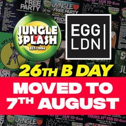 Jungle Splash Free Birthday Party - London