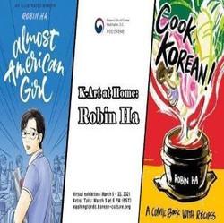 K-art at Home: Robin Ha - Introducing the Korean Culture Graphic Novel