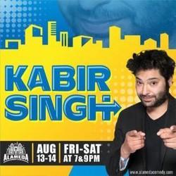 Kabir Singh at the Alameda Comedy Club