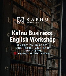 【 Kafnu Business English Workshop 】