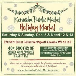 Kenosha Public Market Holiday Market!