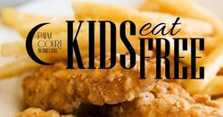Kids Eat Free Mondays at Palm Court in Arlington Heights, Il