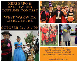 Kids Expo and Halloween Costume Contest