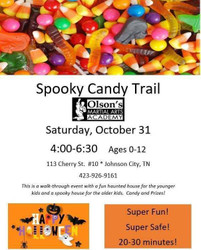 Kids Halloween Spooky Candy Trail