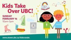 Kids Take Over Ubc