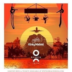 Kinky Malinki at O Beach Ibiza