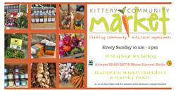 Kittery Community Market Outdoor Season
