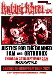 Kublai Khan Tx at The Underworld Camden - London // New Date