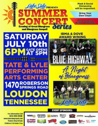 Lakeside's Summer Concert Series Featuring: Blue Highway