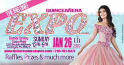 Las Vegas Quinceanera Expo January 26th 2020 at the Eastside Cannery Casino