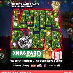 Latin Power Christmas Party - Christchurch