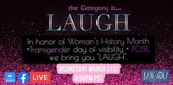 Laugh Comedy Show! Hilarious Transgender Comedians