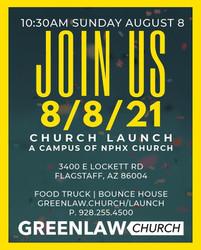 Launch of Greenlaw Church