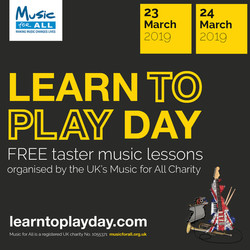 Learn to Play Day is coming to Northamptonshire