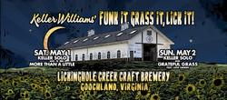 Lickinghole Creek Presents Keller Williams 5/1/21 and 5/2/21