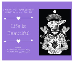 Life is Beautiful Live Stream for Nami
