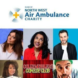 Lift Off for Laughs Online Comedy Night : Charity Fundraiser in Aid of North West Air Ambulance