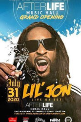 Lil Jon Live at the Afterlife Music Hall Grand Opening