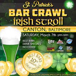 Lindy Promo's Baltimore Canton St. Patrick's Day Irish Stroll