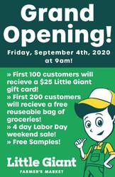 Little Giant Farmer's Market Riverdale Grand Opening