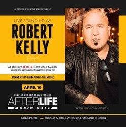 Live Stand Up Comedy With Robert Kelly and Friends