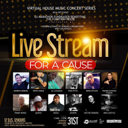 Live Streaming and Events Platform Presents a Five Event Virtual House Music Concert Series
