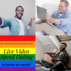 Live-matched Virtual Gay Speed Dating - Nyc 10/13