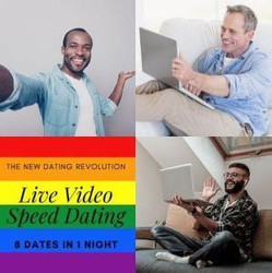 Live-matched Virtual Gay Speed Dating - San Francisco 9/16