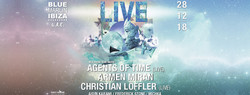 Live with Agents of Time, Armen Miran & Christian Löffler