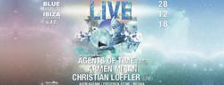 Live with Agents of Time, Armen Miran & Christian Löffler