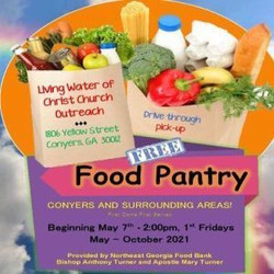 Living Water of Christ Church Free Food Pantry