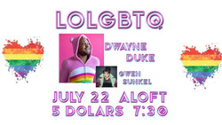 Lolgbtq comedy showcase