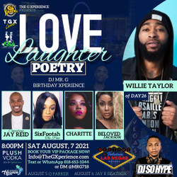 Love + Laughter + Poetry feat. Willie Taylor from Day26, Comedian Jay Reid and more!